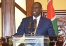 Deputy President Ruto Condoles With the West Pokot Landslide Tragedy Victims' families