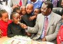 Raila Treats Needy Children to an Early Christmas (See Photos)