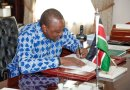 Uhuru Signs Into Law The Second Supplementary Appropriation Bill of 2019