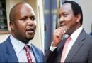Kalonzo Teaches Moses Kuria How to Respect Uhuru