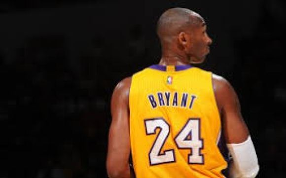 Kobe in action - NBA's Greatest of All Time (GOAT)