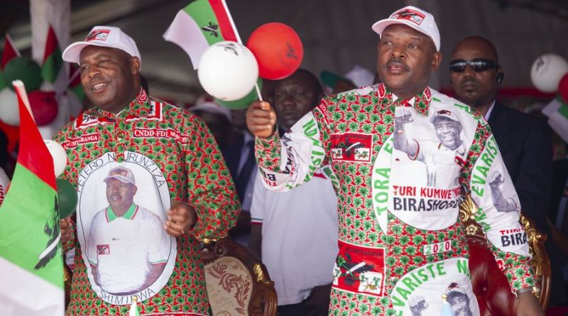 Evariste Ndayishimiye Declared Winner of Burundi Presidential Election