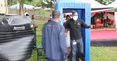 Safaricom Foundation Sets Up Sanitation Booths in Six Counties