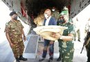 KDF Sends Aid to DRC Families Displaced by Volcanic Eruption