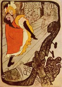 Toulouse-Lautrc, Jane Avril 1893