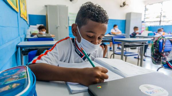 100% dos alunos retornam às escolas municipais a partir de quarta (20), em Bertioga
