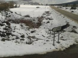 Temporal de frío y nieve en Litos