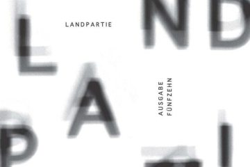"Cover der ""Landpartie 15"""