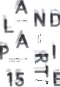 """Cover der """"Landpartie 15"""""""
