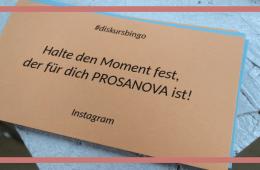 Instagram Aufgabe des Diskursbingos