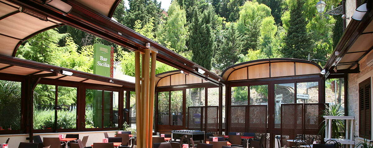 retractable roof sunrooms patio covers