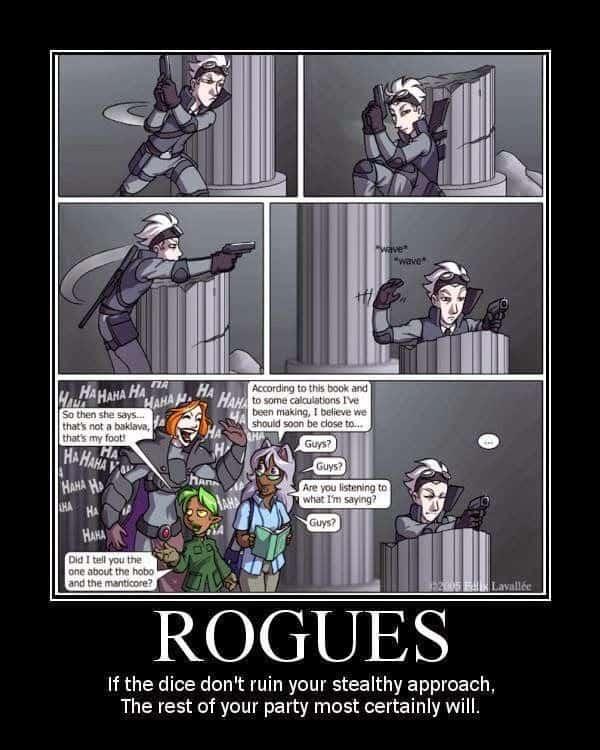 Rogue Dnd Memes : rogue, memes, Memes:, Rogue, Edition, LitRPG, Reads