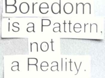 BOREDOM IS ALWAYS COUNTER-REVOLUTIONARY: donald nicholson-smith + iain boal at ciis