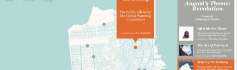 The Litography Project: Mapping writers, literary history of S.F.