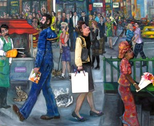 Downtown by Nancy Calef