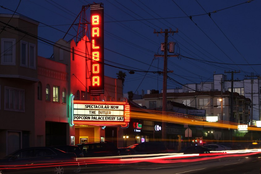 Balboa Theater by sfbay.ca
