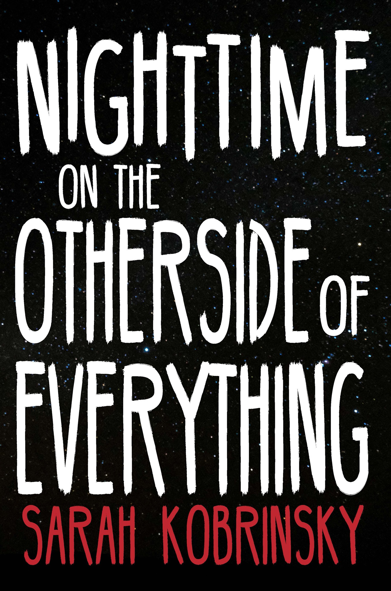 front cover for Nightime on the Other Side of Everything