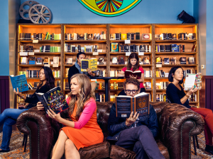 Silent Book Club at The Bindery in San Francisco by Cody Pickens