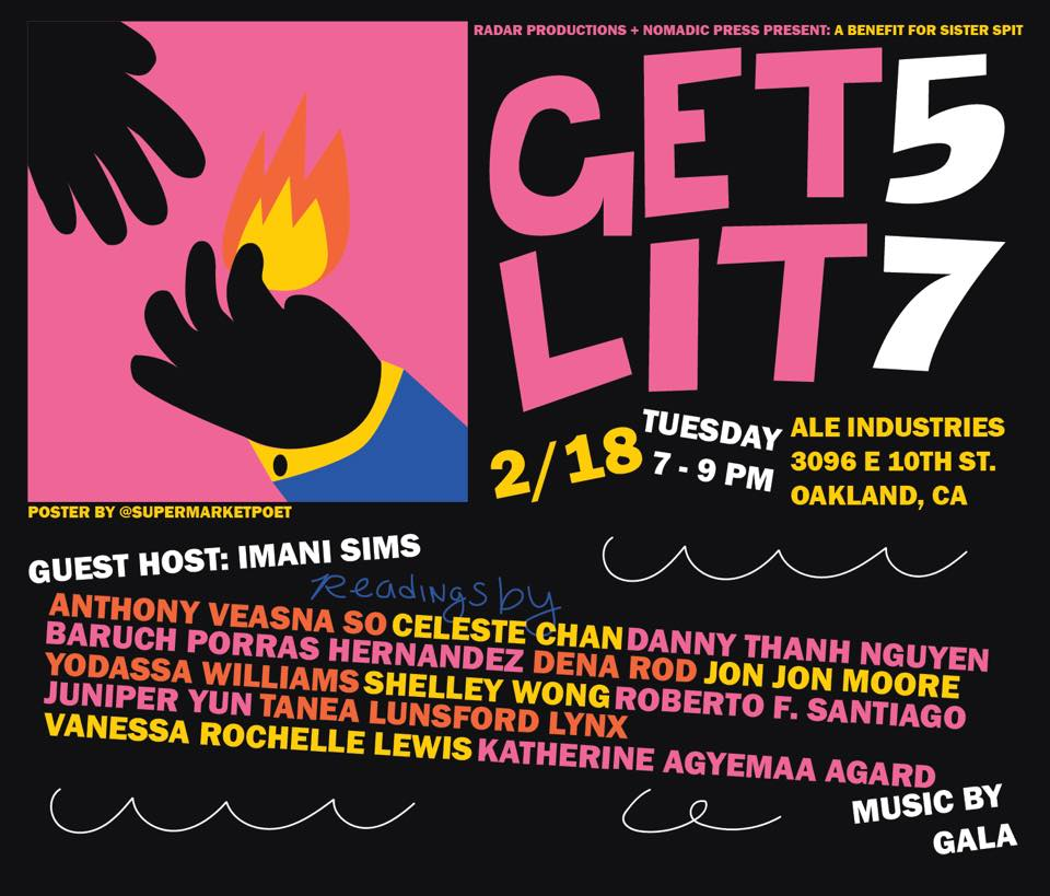 flier for Get Lit 57