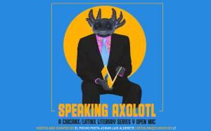 flier for Speaking Axolotl 2020