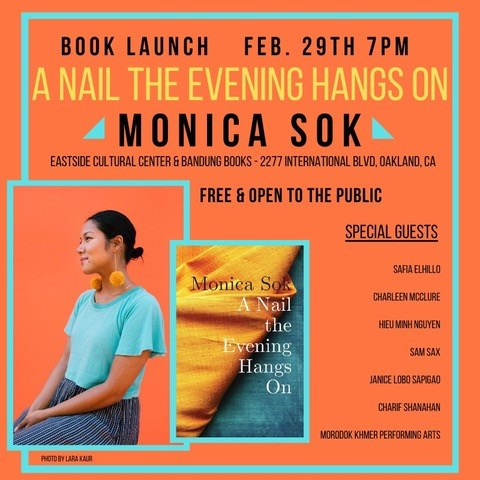 Book Release Party: A Nail the Evening Hangs On by Monica Sok