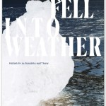 front cover of We Fell Into Weather by Alexandra Mattraw