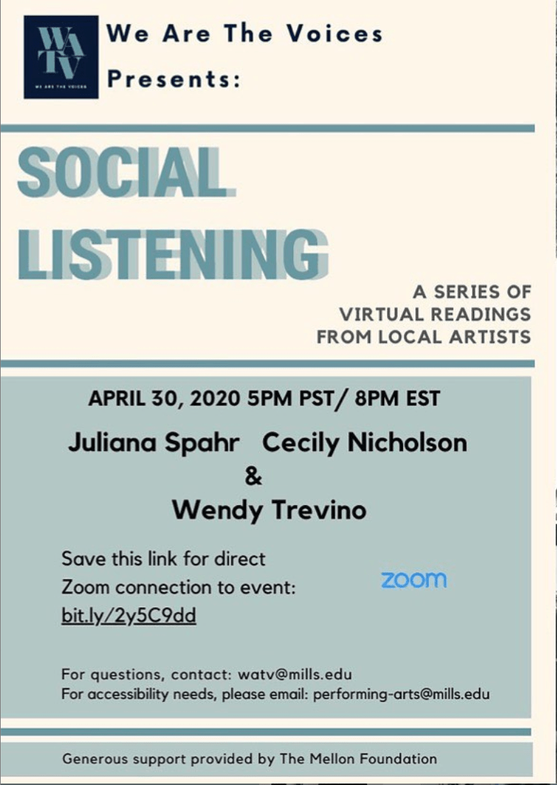 We Are The Voices Presents:::::: SOCIAL LISTENING