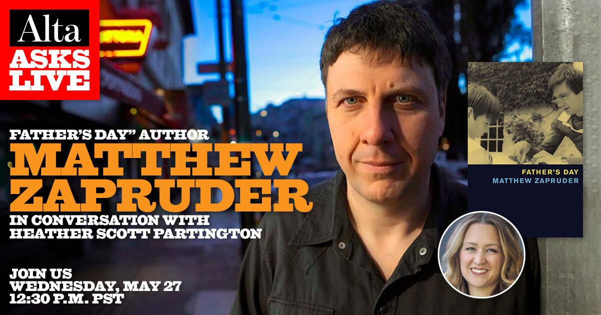 Alta Asks Live: Matthew Zapruder
