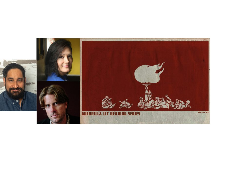 Guerrilla Lit: Farooq Ahmed, Nicole Mabry, Peter Kline