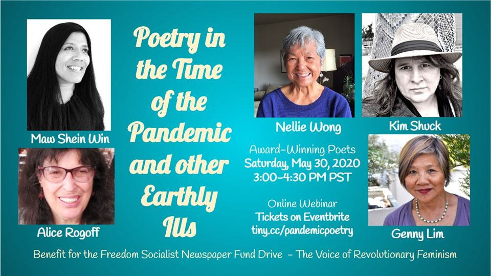 Poetry in the Time of the Pandemic & Other Earthly Ills
