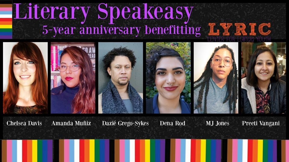 Literary Speakeasy 5-year anniversary celebration