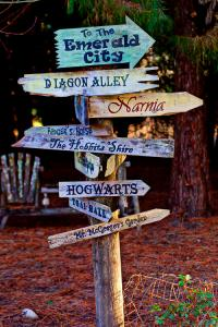 Eight Fictional Places We'd Love to Visit
