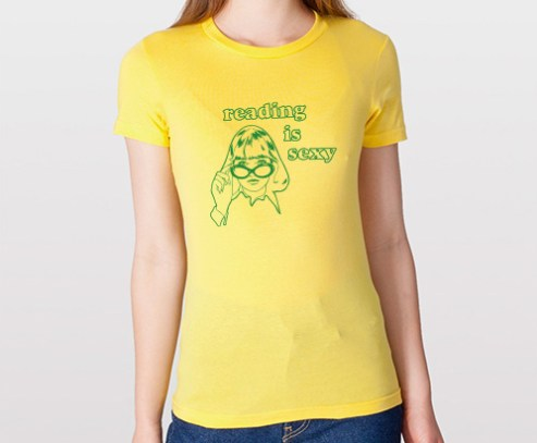 reading-is-sexy-green-on-yellow-v2-med