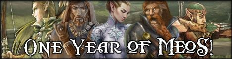 One year anniversary signature banner of the website MeoSource / LotroSource, for those who will understand (art by Jan Bosman)