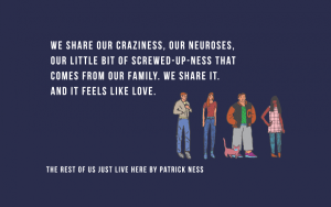 LitStack Review:  The Rest of Us Just Live Here by Patrick Ness