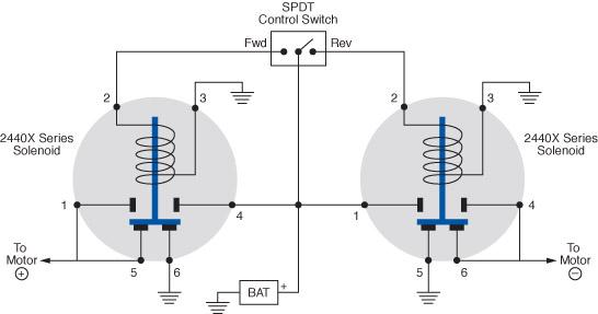 Motor Reversing Diagram