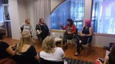 Sally Green, Siri Pettersen, Jo Salmson och Laini Taylor