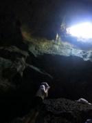 Inside the Hinagdanan Cave