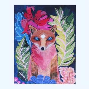 Spirit Fox Art Print