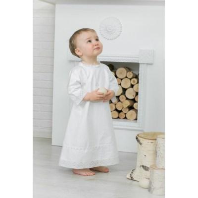 Alivia Kids Крестильная рубашка Ажурный хлопок 18.001.10