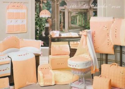 Комплект в кроватку BabyPiu Le Chicche — мягкий бортик, одеяло, наволочка