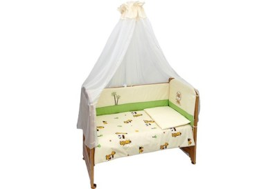 Комплект в кроватку Bombus Веселые друзья (7 предметов)