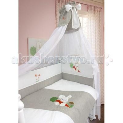 Комплект в кроватку Селена (Сдобина) Мой маленький друг (7 предметов)