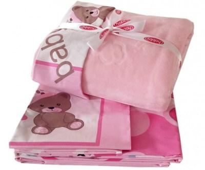 Комплект в кроватку Hobby Home Collection С покрывалом Ponpon 100х150 см