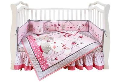 Комплект в кроватку Giovanni Shapito Bonny Bunny (7 предметов)