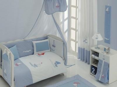 Постельное белье Kidboo Blue Marine Premium (3 предмета)