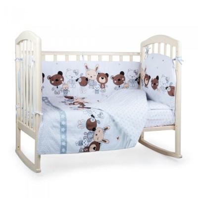 Комплект в кроватку Alis Лучшие друзья (6 предметов)