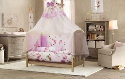 Комплект в кроватку ByTwinz Маленькая фея (8 предметов)