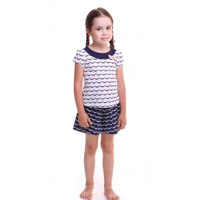 Свiтанак Комплект (футболка и юбка-шорты) для девочки Р608693