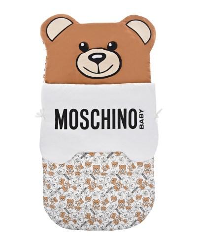 """Конверт для новорожденного с принтом """"медвежата"""" Moschino детский"""